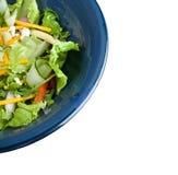 Salat in der Schüssel Stockbild