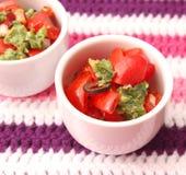 Salat der Tomaten Lizenzfreies Stockfoto