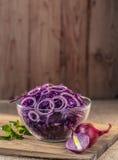 Salat des blauen Kohls Lizenzfreies Stockbild