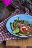 Salat des Frischgemüses Stockfotos