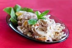 Salat des Millionärsalats vom Palmekern Lizenzfreie Stockfotos