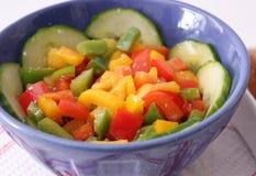 Salat des Paprikas stockfotos