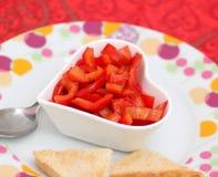 Salat des Paprikas lizenzfreies stockfoto