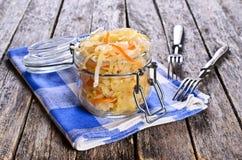 Salat des Sauerkrauts Stockbilder