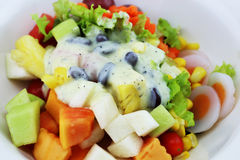 Salat essen gesunden Körper Stockfotos