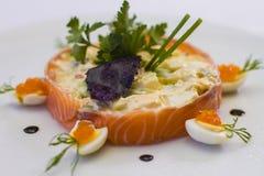 Salat für Bankett Stockfoto