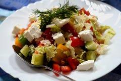 Salat festlich Lizenzfreies Stockfoto