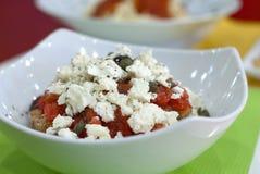 Salat greco immagine stock libera da diritti