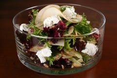 Salat im Glas lizenzfreies stockfoto
