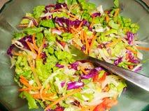 Salat, Kopfsalat, Tomate, Karotte Stockfoto