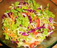 Salat, Kopfsalat, Tomate, Karotte Stockfotos