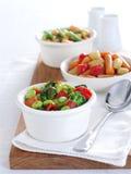 Salat mit drei Bohnen Stockfotografie