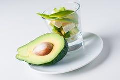 Salat mit Käse und Avocado Lizenzfreie Stockfotografie