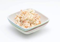 Salat mit Majonäse Lizenzfreies Stockfoto