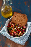 Russischer Salat Stockfotografie