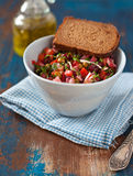 Russischer Salat Stockfoto