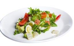 Salat mit Tomate Lizenzfreie Stockfotografie