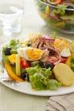 Salat nicoise Stockfoto