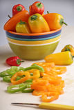 Salat-Pfeffer Lizenzfreie Stockfotos