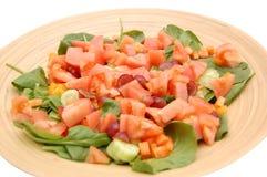 Salat-Schüssel Stockfoto
