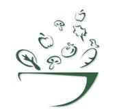 Salat-Schüssel Lizenzfreies Stockfoto