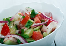 Salat Shirazi Stockfotos