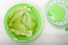 Salat-Spinner Stockbild