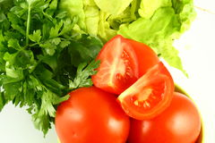 Salat tomato Stock Photos