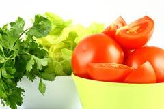 Salat tomato Royalty Free Stock Image