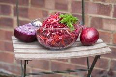 Salat Veg amerikanischen Nationalstandards Lizenzfreie Stockbilder