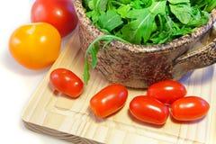 Salat von Arugula Lizenzfreies Stockfoto