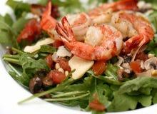 Salat von den Garnelen Lizenzfreies Stockfoto