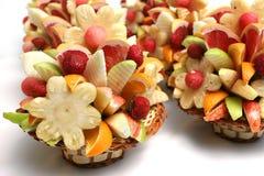 Salat von der Frucht Stockfotos