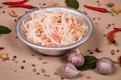 Salat von Kalmaren Lizenzfreie Stockfotografie