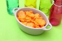 Salat von Karotten stockfotos