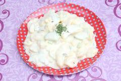 Salat von Kartoffeln stockfotos