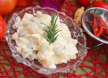 Salat von Kartoffeln lizenzfreies stockbild