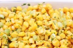Salat von Mais Stockfotos