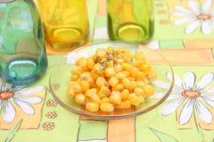 Salat von Mais stockfoto
