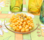 Salat von Mais lizenzfreies stockfoto