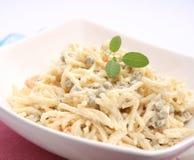 Salat von Nudeln Lizenzfreies Stockfoto