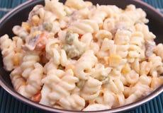 Salat von Nudeln Stockfoto