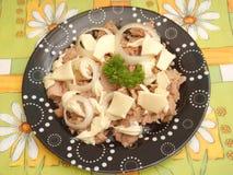 Salat von Thunfischen Stockfotografie