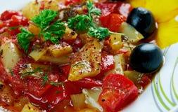 Salata Mashwia Royalty Free Stock Photo