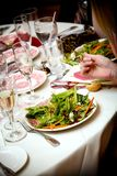 Salataperitif lizenzfreie stockfotos