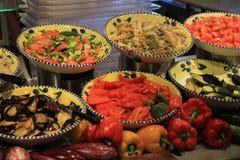 Salatbar Stockfotos