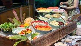 Salatbar Stockfoto