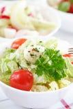 Salatbuffet Stockbild