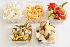 Salate Lizenzfreie Stockfotos