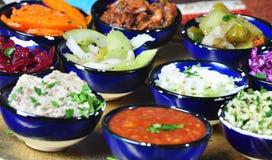 Salate Stockfoto